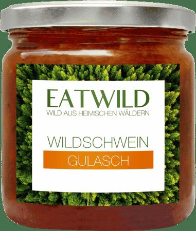 Wildschwein-Gulasch mit Bio-Zutaten