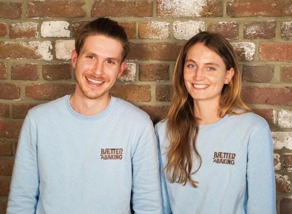 Lara Lüning und Benedict Heine von Baetter Baking