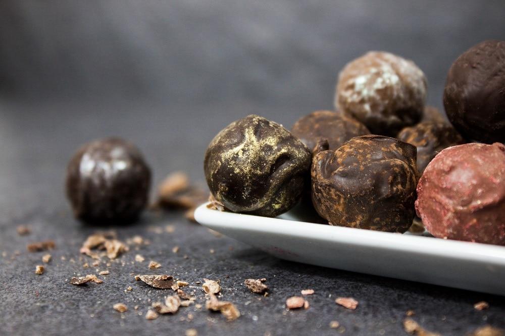 Schokoladen-Pralinen von Björn's
