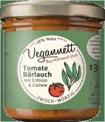 Bio Tomate-Bärlauch Aufstrich mit Cashew- und Erdnussmus