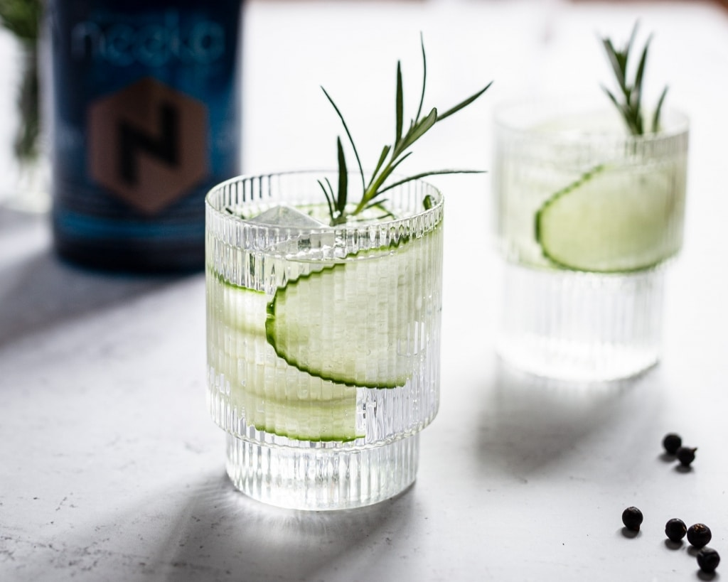Gin Tonic mit Gurke von neeka