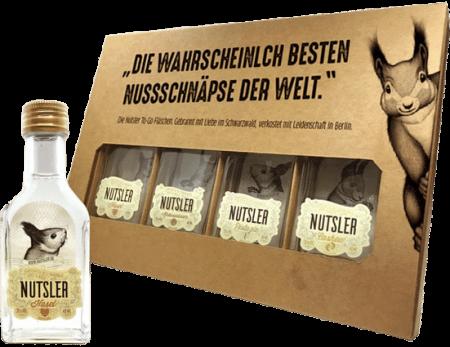 Nutsler Geschenk- & Probier-Set von Nutsler