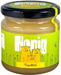 Bärchen Honig Rapsblüte