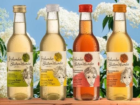 Holunderblüte & Quitte Premium Sirup