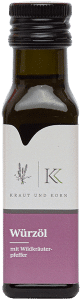 Wildkräuterpfeffer-Würzöl