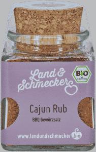Bio Cajun Rub BBQ Gewürzmischung