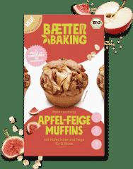 Bio Backmischung Apfel-Feige Muffins