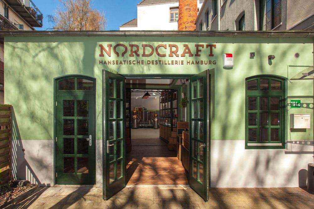Außenansicht Hinterhof von NORDCRAFT