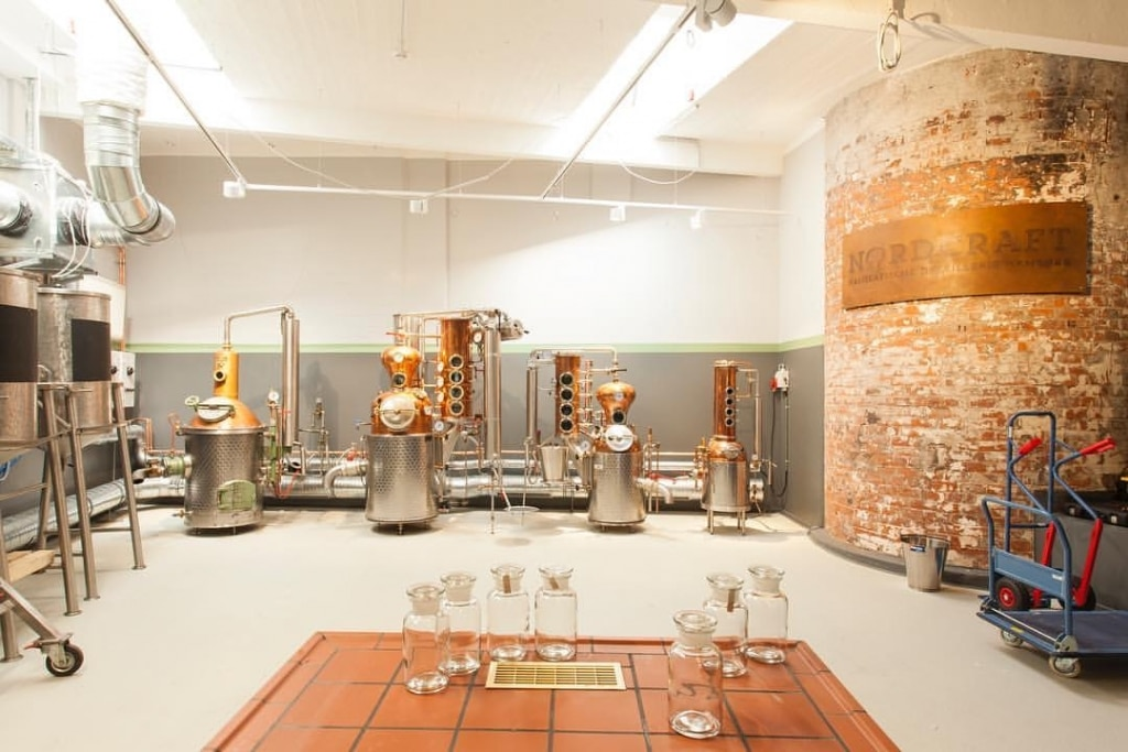 Destillerie-Raum von NORDCRAFT