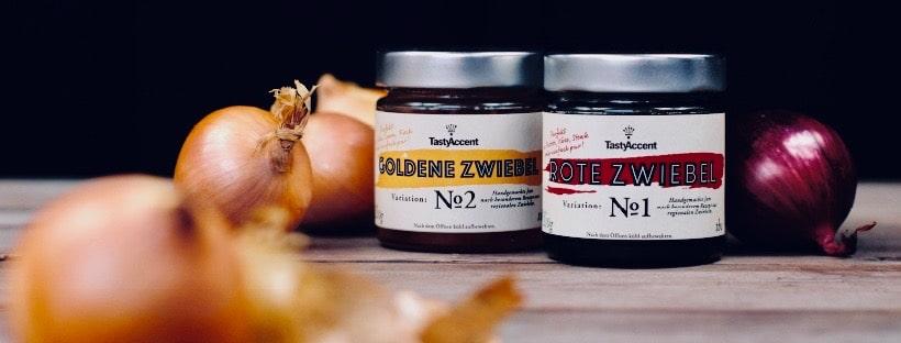 Rote und Goldene Zwiebelmarmelade von TastyAccent