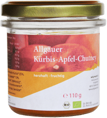 Allgäuer Bio Kürbis-Apfel Chutney
