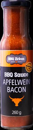 Apfelwein-Bacon BBQ-Sauce