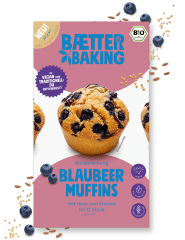 Bio Backmischung Blaubeer Muffins