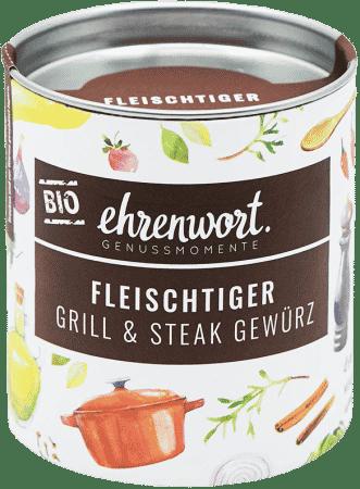 """Bio Grill & Steak Gewürz """"Fleischtiger"""""""