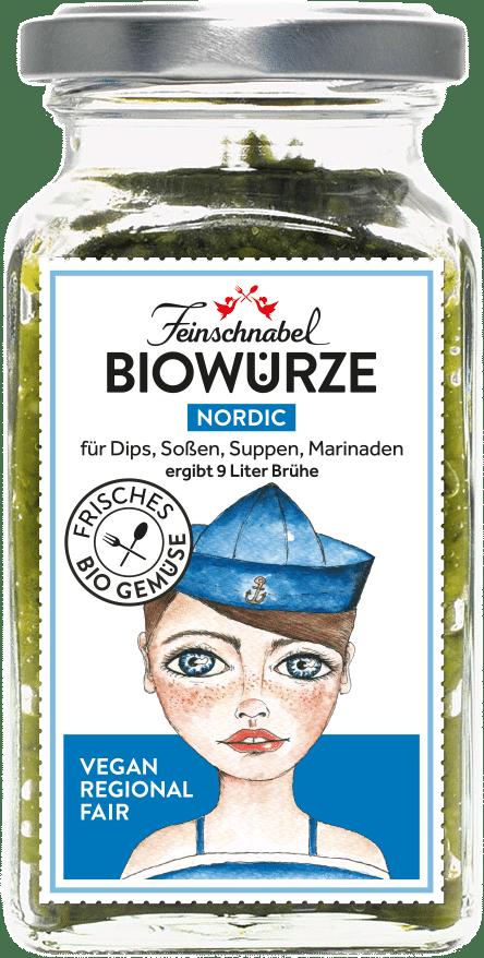 Biowürze Nordic - Gemüsebrühe pastös
