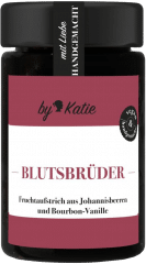 Blutsbrüder - Johannisbeeraufstrich mit Bourbon-Vanille