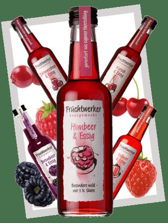 Fruchtwerker Probierpaket rot