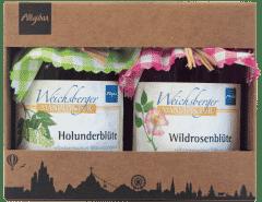 Holunderblüte & Wildrosenblüte in der Geschenk-Box