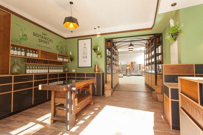 Blick in die Destillerie von NORDCRAFT