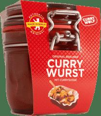 Original Berliner Currywurst im Glas