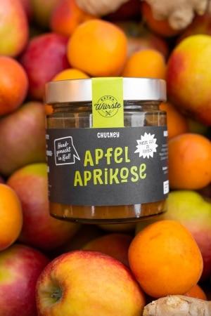 Apfel-Aprikosen Chutney