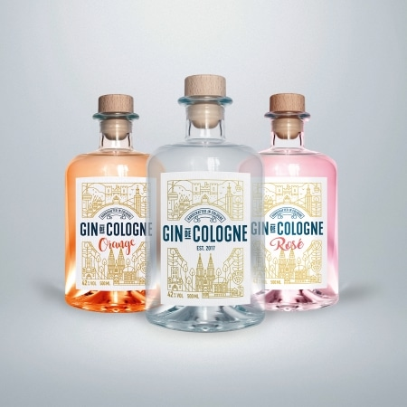 Gin de Cologne Orange Mini