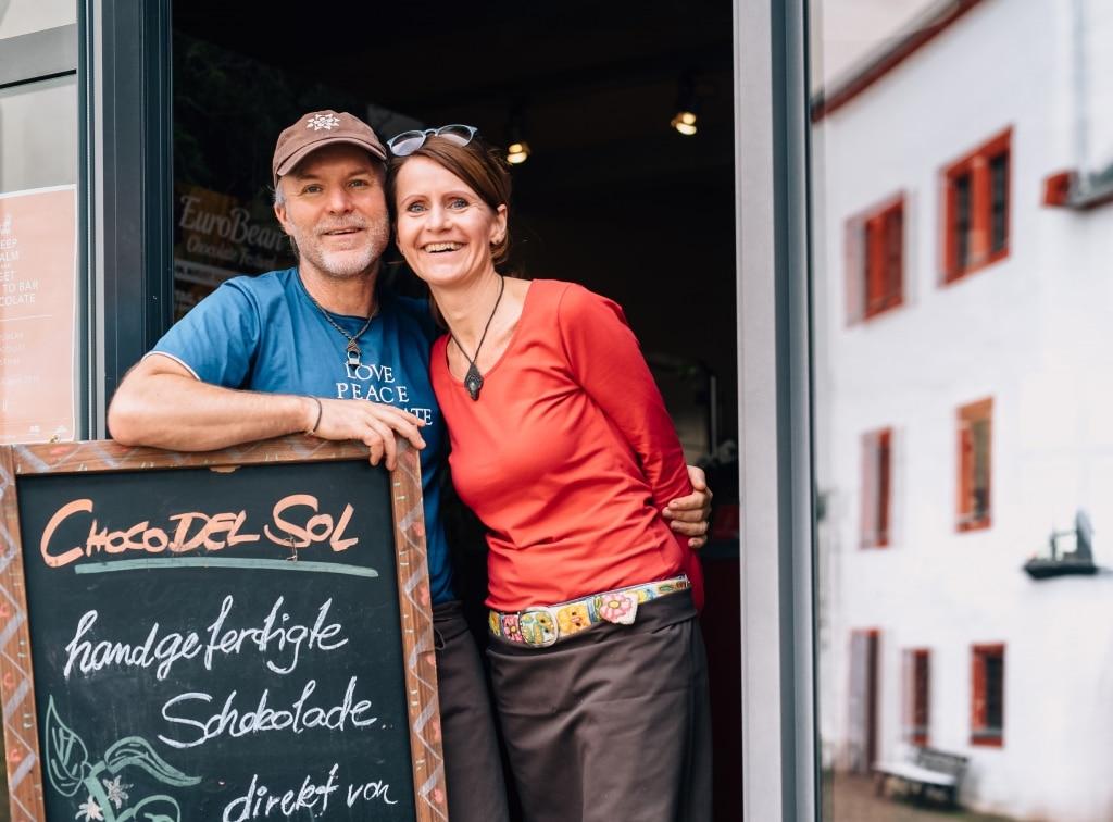 Peggy und ihr Mann von Choco Del Sol