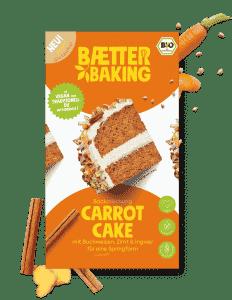 Bio Backmischung Carrot Cake glutenfrei