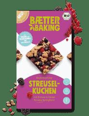 Bio Backmischung Streuselkuchen