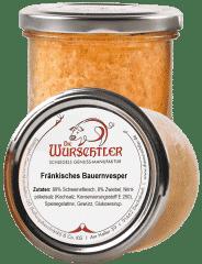 Fränkisches Bauernvesper