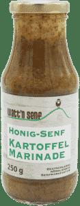 Honig-Senf Kartoffelmarinade