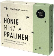 Honigpralinen Minze