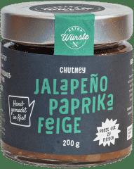 Jalapeño-Paprika-Feige Chutney