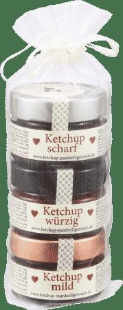 Ketchup Sortenmix 3er-Set
