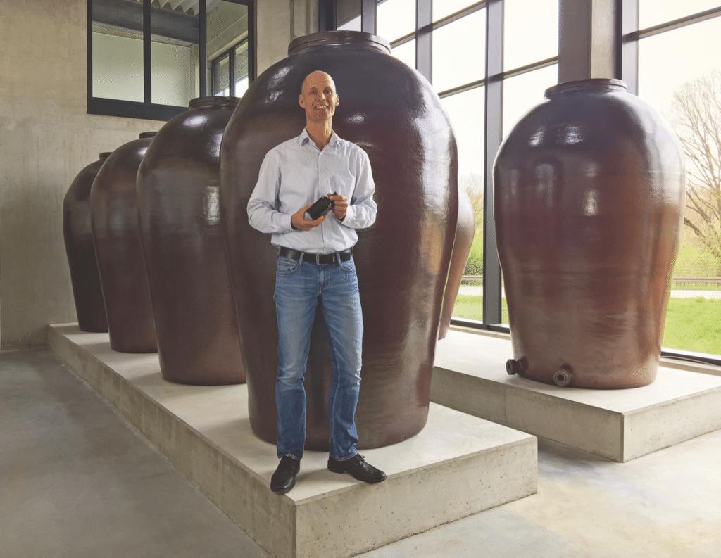 Dr. Friedrich Mertz von der Lindenmeyer Essig Brauerei