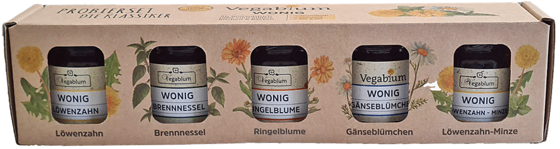 Wonig Probierset - Die Klassiker von Vegablum