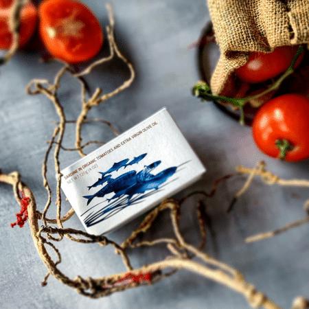 MARIA Organic Sardinen in Tomatensauce & Bio Olivenöl