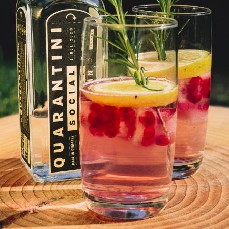 Quarantini Social Dry Gin