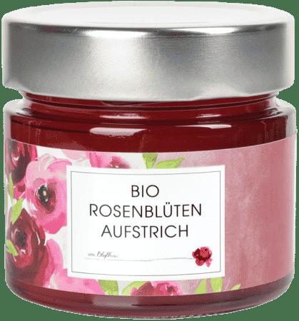 Bio Rosenblüten-Aufstrich