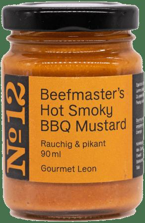 Hot Smoky BBQ Mustard