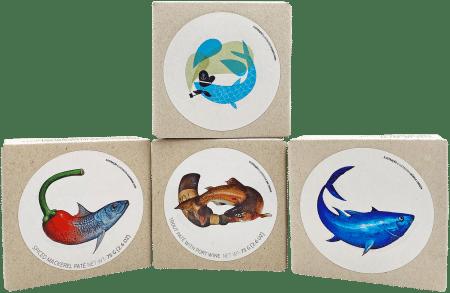 JOSE Gourmet Fisch-Paté 4er Probierset