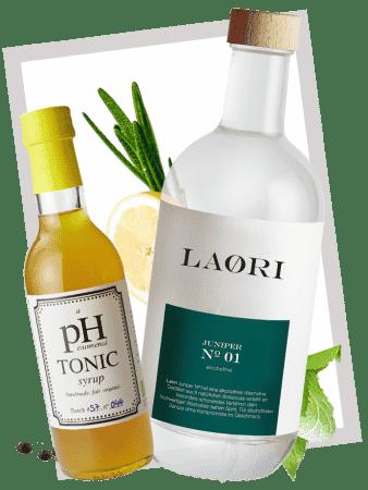 Laori Juniper No 1 & Bio Tonic Sirup im Set