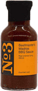 Madras Curry Grillsauce
