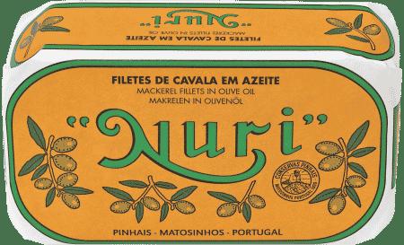 NURI Makrelenfilet in Olivenöl