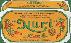 NURI Makrelenfilet in scharfem Olivenöl