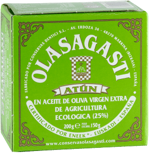 Olasagasti Thunfischfilet in Bio-Olivenöl