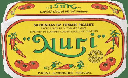 NURI Sardinen in scharfer Tomatensauce & Olivenöl
