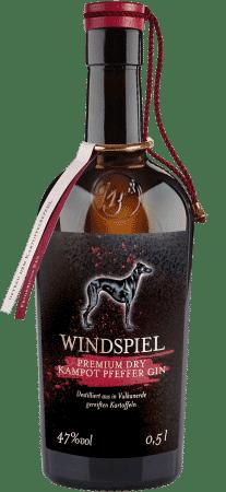 Windspiel Premium Dry Kampot Pfeffer Gin