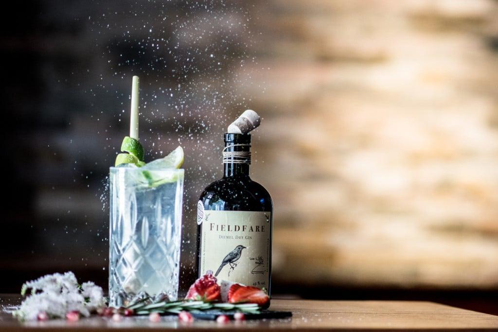 Fieldfare Gin von Diemelstrand Distillers