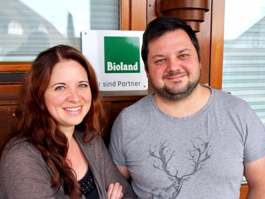 Nadine und Christian Wenzel von Land & Schmecker